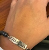 dissent bracelet cropped