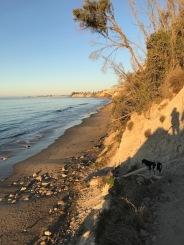 morning beach hike